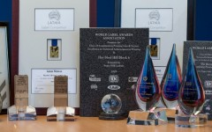 Awards for Label printing for Supastik